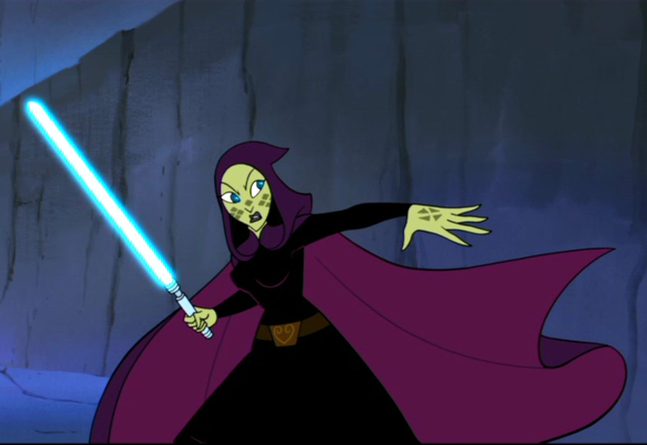 Barriss Offee Clones Wars Animated